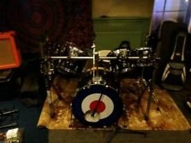 Tama 7 piece drum kit