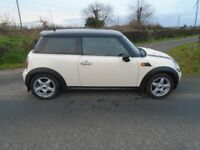 09 bmw mini 1.6 cooper D t/diesel 3 d whiter 6 sp v/clean f/sh lins 30tx for sale  Cookstown, County Tyrone