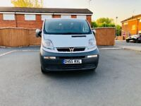 vauxhall vivaro 1.9diesel 2005 comes with 6 months warranty and full hustle service from new