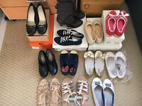 Collection of shoes and sandals for sale, sizes 5 & 6