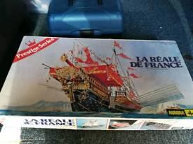 Le Reale de France model ship & paints