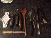 10 pieces kitchen utensils