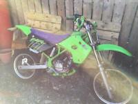 Kawasaki kx 80 1996 scrambler / mx bike
