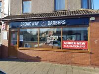 Barbers Chair for Rent, busy shop in Cardiff