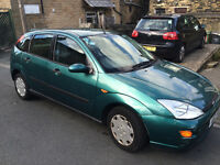 Ford Focus 1.6, MOT'd + All documentation present. NEW: clutch, pump, timing belt, tyres, audio.