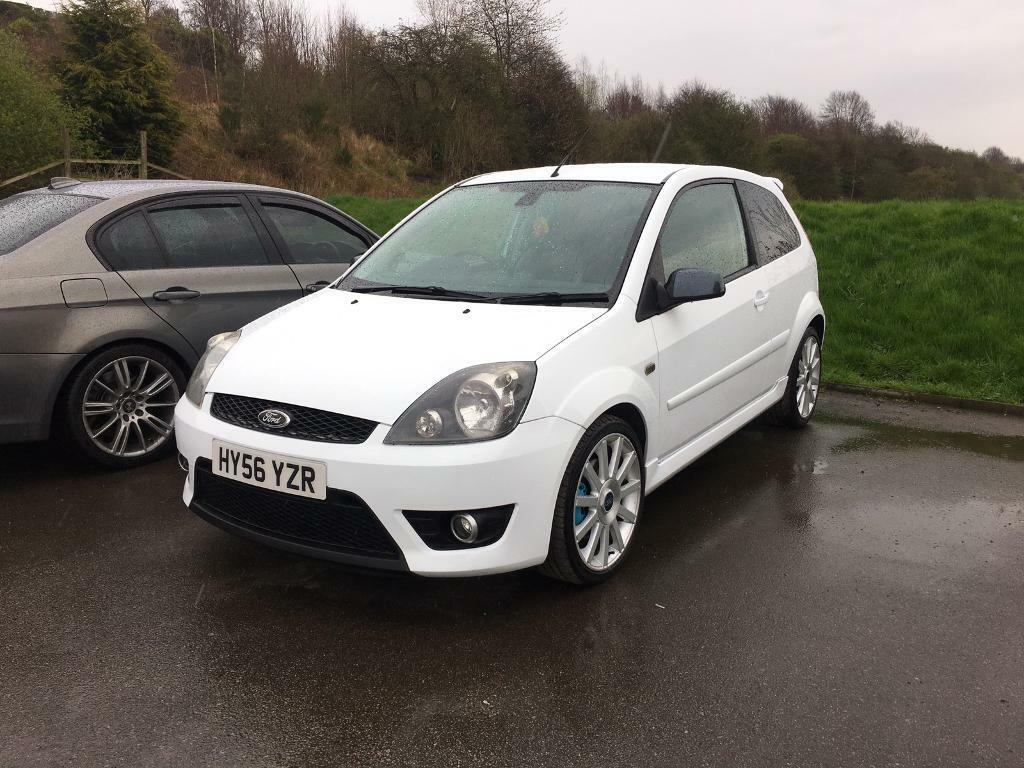 ford fiesta st 150 white in wakefield west yorkshire gumtree. Black Bedroom Furniture Sets. Home Design Ideas