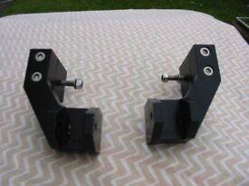 Yamaha MT01 Passenger Footrest Extensions