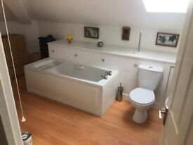 Flat 2 bed, 2 bath with panoramic views of fells