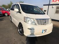 2004 Toyota Alphard 2.4 V Edition 8 Seater Auto 5dr 8 Seater+Auto+Fully serviced