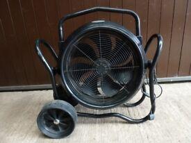 Air Jammer 500 Industrial Cooling Fan for Garage / Workshop - 240v