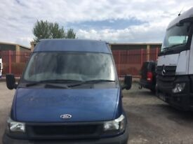 Ford transit T280 write off/repairable (category N) NO MOT