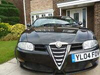 2004 Alfa Romeo GT 16V Lusso Coupe with leather seats.