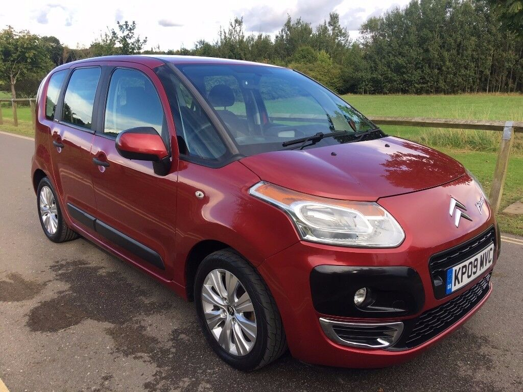 2009 citroen c3 picasso vtr 1 6 hdi turbo diesel cheap family car in wollaton. Black Bedroom Furniture Sets. Home Design Ideas