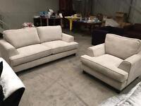 Brand new 3 + 1 grey sofa suite