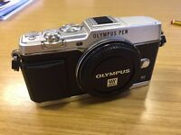 Olympus EP-5 Compact System Camera (Micro Four Thirds) Mirrorless Camera (Body Only)