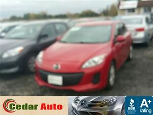 2012 Mazda MAZDA3 Managers Special