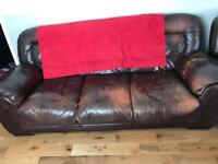2 Chairs and 3 seater sofa £300 O.N.O FOR THE LOT