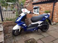 Peugeot Speedfight 3 50cc Moped Scooter