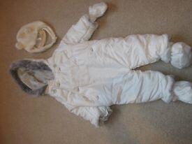 Baby snowsuit 3-6 month unisex
