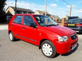 2006 SUZUKI ALTO 1.1 GL, ONLY 12,500 MILES, ROAD TAX £30 PER YEAR, 5 DOOR, LOW MILEAGE SMALL CAR