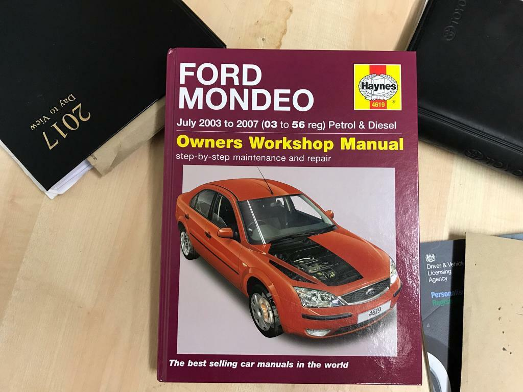 FORD MONDEO 2003-2007 HAYNES WORKSHOP MANUAL