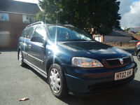 Vauxhall Astra -1.7 Diesel- .station wagon. 1 year MOT!