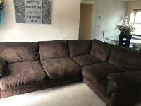 Lovely corner sofa Like new no matks great condition