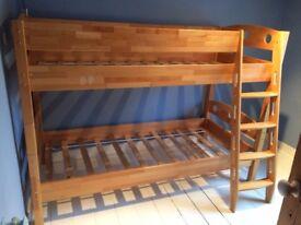 Beech bunk bed