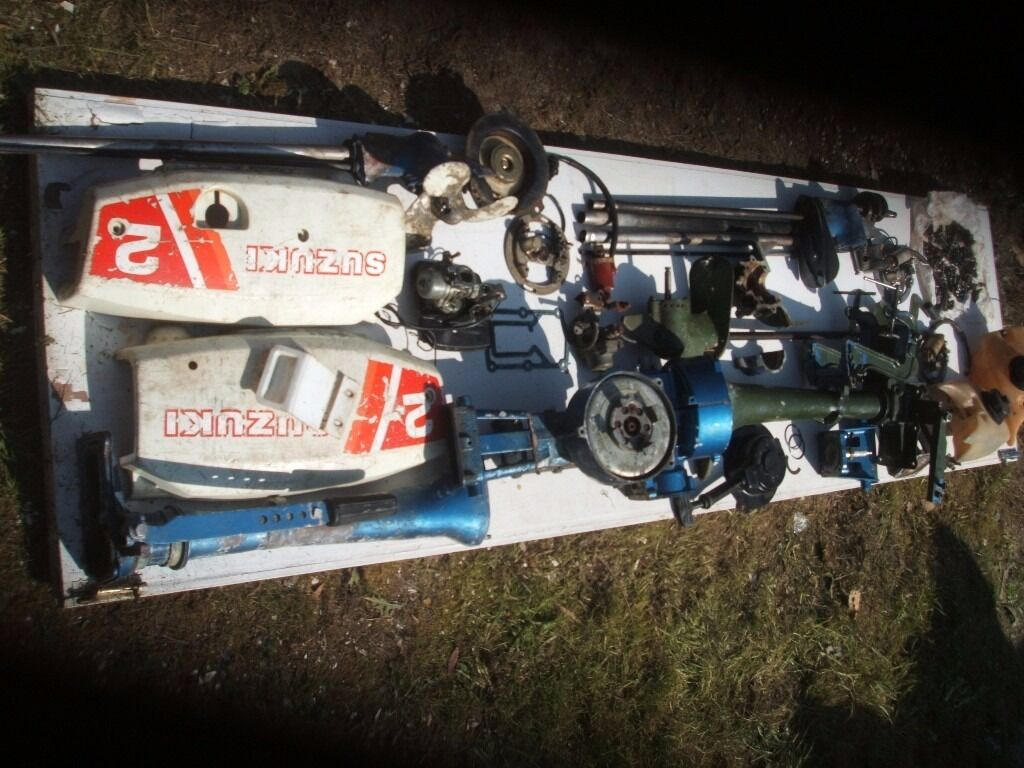 Suzuki 2hp DT2 outboard PARTS for rebuilding or spares