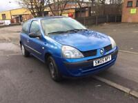 2005 Renault Clio 1.2 Petrol AUTOMATIC 3 door part Ex to clear £895