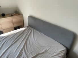 IKEA double bed (mattress included)