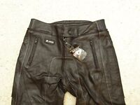 Brand New Motorbike Akito Motorcycle Leather Trousers Size 16 Armoured Knees