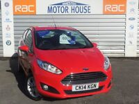 Ford Fiesta ZETEC (£30.00 ROAD TAX) FREE MOT'S AS LONG AS YOU OWN THE CAR!!! (red) 2014