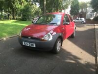 """2001 (51) FORD KA 1.3 PETROL LONG MOT """"LOW MILEAGE + MOTED TILL AUGUST 2017 + DRIVES VERY GOOD"""""""