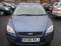 FORD FOCUS 1.6 LX 5 DOOR AUTOMATIC 2006/06 ONLY 62K