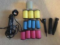 Remington Big N Bouncy hair curlers