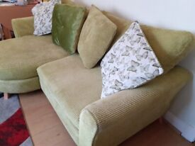 DFS Sofa with L shaped end