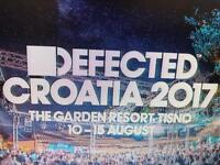 Four tickets to Defected Croatia + more!
