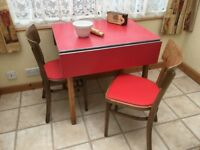 Mid Century Kitchen Table and Chairs