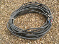 Heavy Duty Electrical Cable - 4-Core - 12 Metres