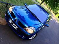 2005 Renault Clio Dynamique 1.2 ,Low Mileage 61000 , Sunroof
