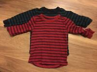 NEXT Boys Tops x 2, age 12 - 18 months