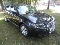 AUDI A3 SPORTSBACK SPECIAL EDTION FULL SERVICE HISTORY JUST HAD A FULL SERVICE INC TIMING BELT