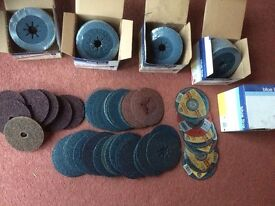 BLUE LINE SANDING and CUT Discs Various Sizes