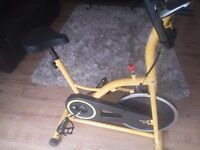 F4H OLYMPIC INTENSIVE CARDIO EXERCISE BIKE ES702 AEROBIC INDOOR CYCLING BIKE