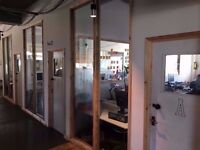 ☼ Affordable Creative Workspaces w/ Natural Light ☕ 24/7 Access ☕Free tea, coffee, Wifi & biscuits