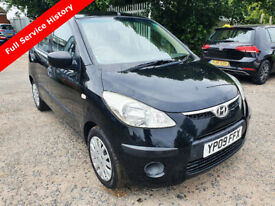 image for Hyundai i10, FULL SERVICE HISTORY 2009, 1.2, 5 dr, TRULEY HONEST CAR