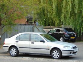 1999 Honda Civic 1.4i S Automatic.. ONLY 50,900 GENUINE VERY LOW MILES + LAST OWNER 15 YEARS!