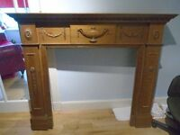 free must uplift wooden replica fire place