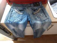 Vintage Graphic J05 Armani Jeans Emporio Straight Fit 33 Waist 32/33 Inside Leg
